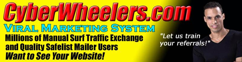 CyberWheelers FREE Viral Traffic Organizer